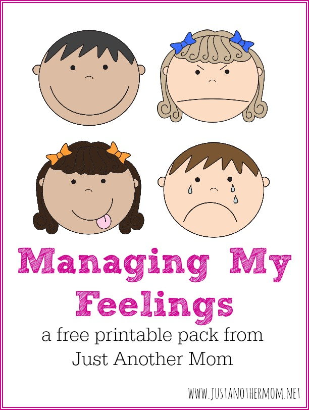 This is another really good  one  with a chart that encourages kids to log their emotions for the day.  I am planning on laminating, cutting and putting these on a key ring for durability.  I can't wait to try them out!