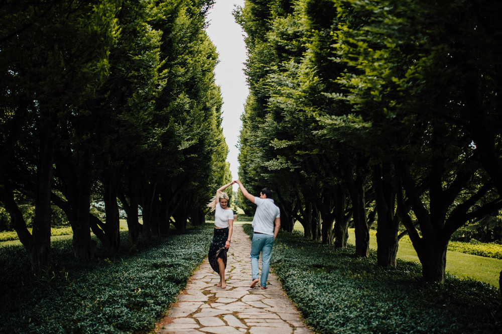 European looking engagement shoot in Canada