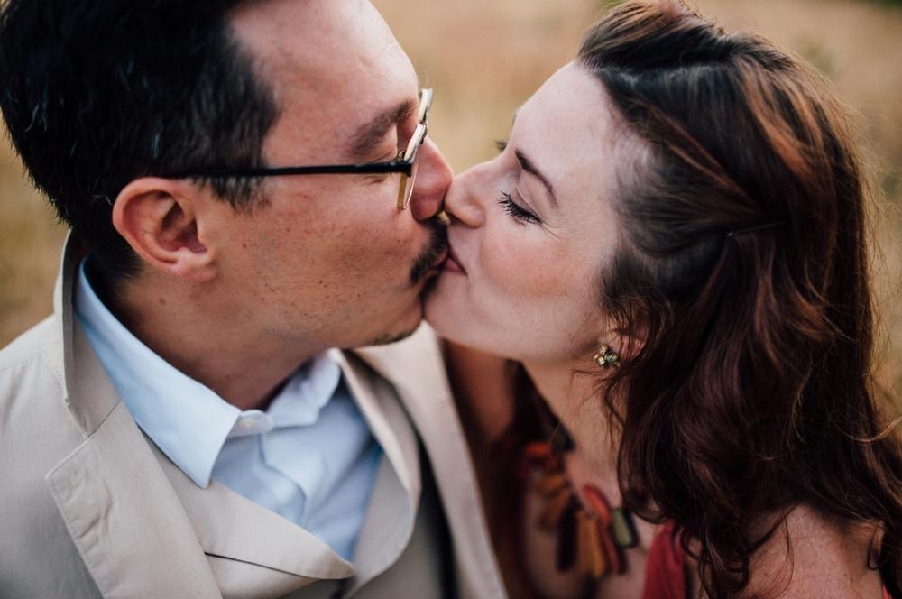 Kissing at High Park