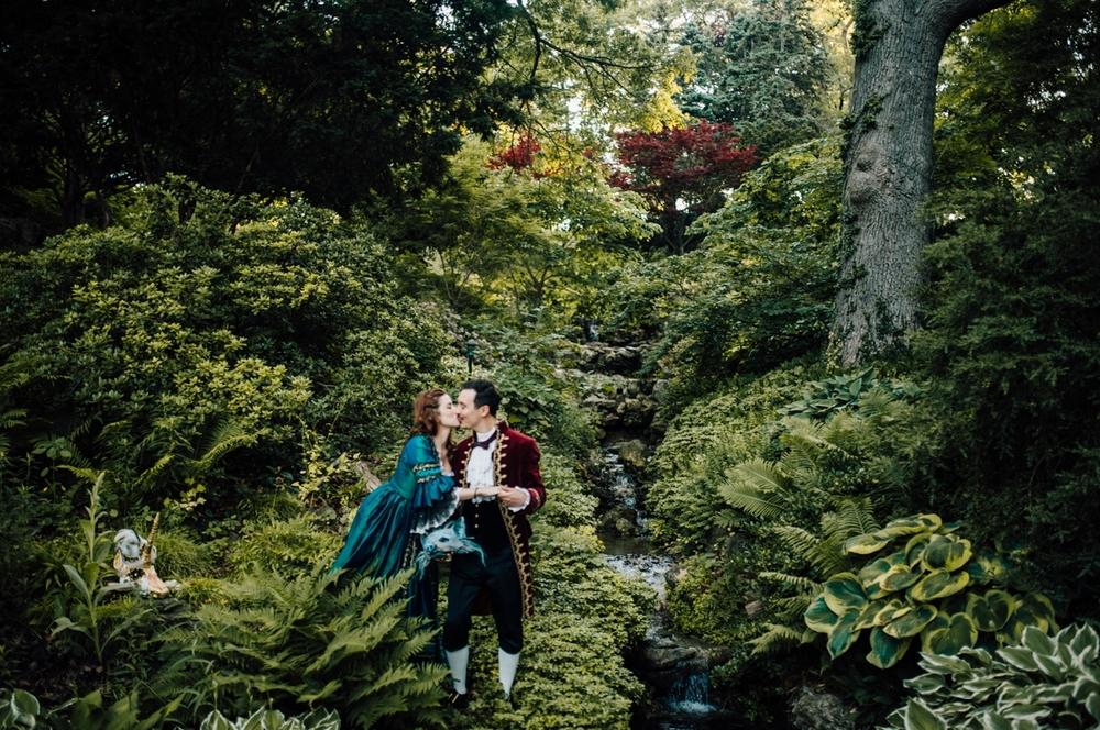 Victorian costume wedding photographer