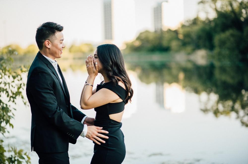 Emotional Toronto proposal