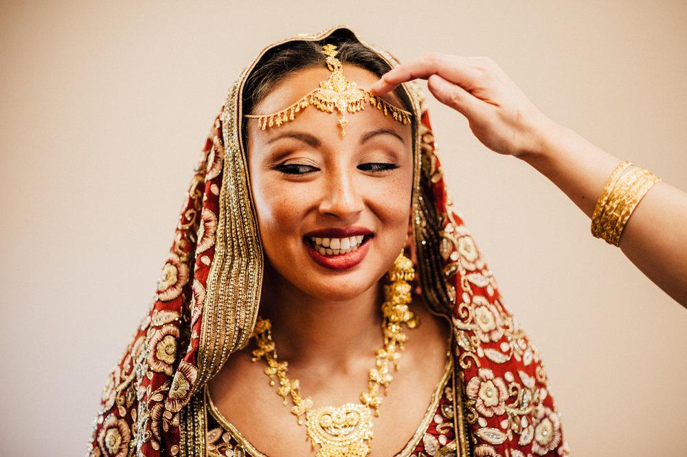 Toronto Indian bride
