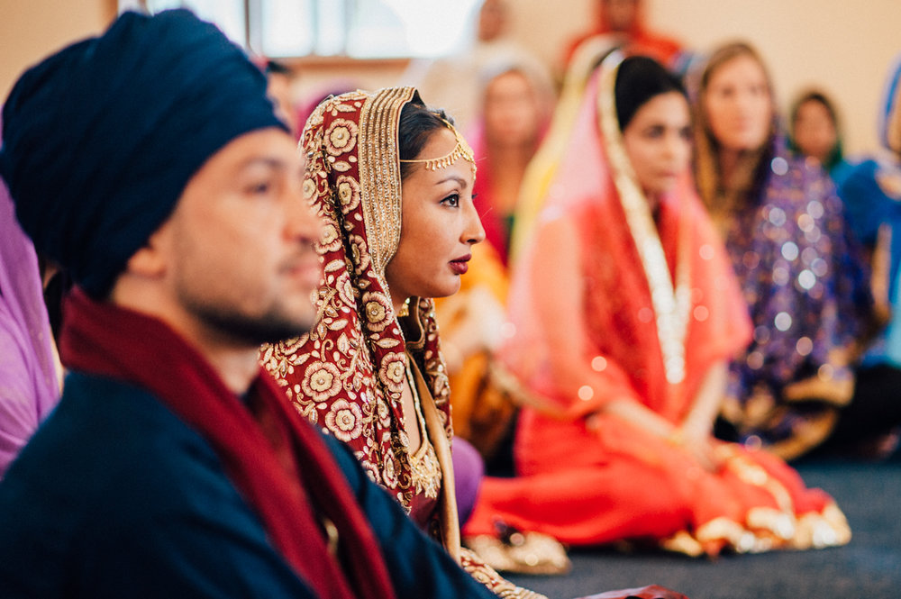 Colourful toronto wedding