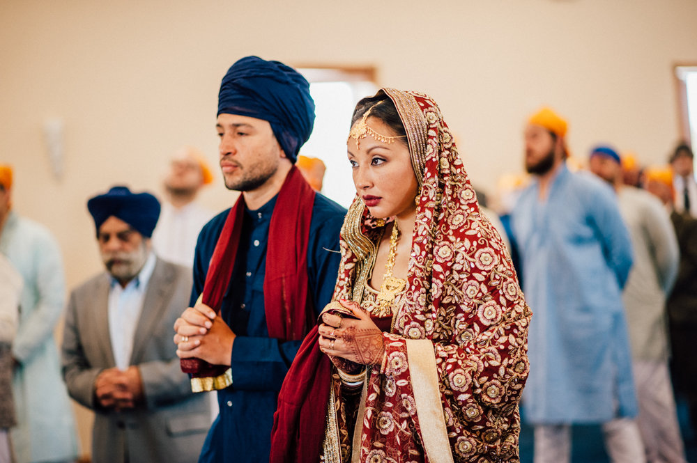 Colourful Ontario Indian wedding