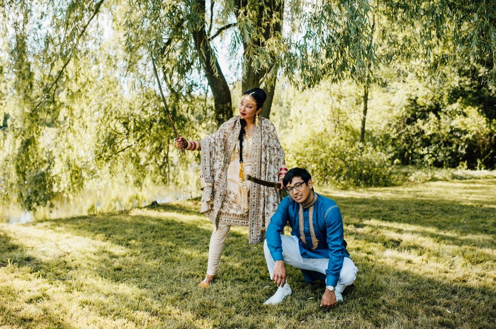 Gorgeous Toronto Indian wedding
