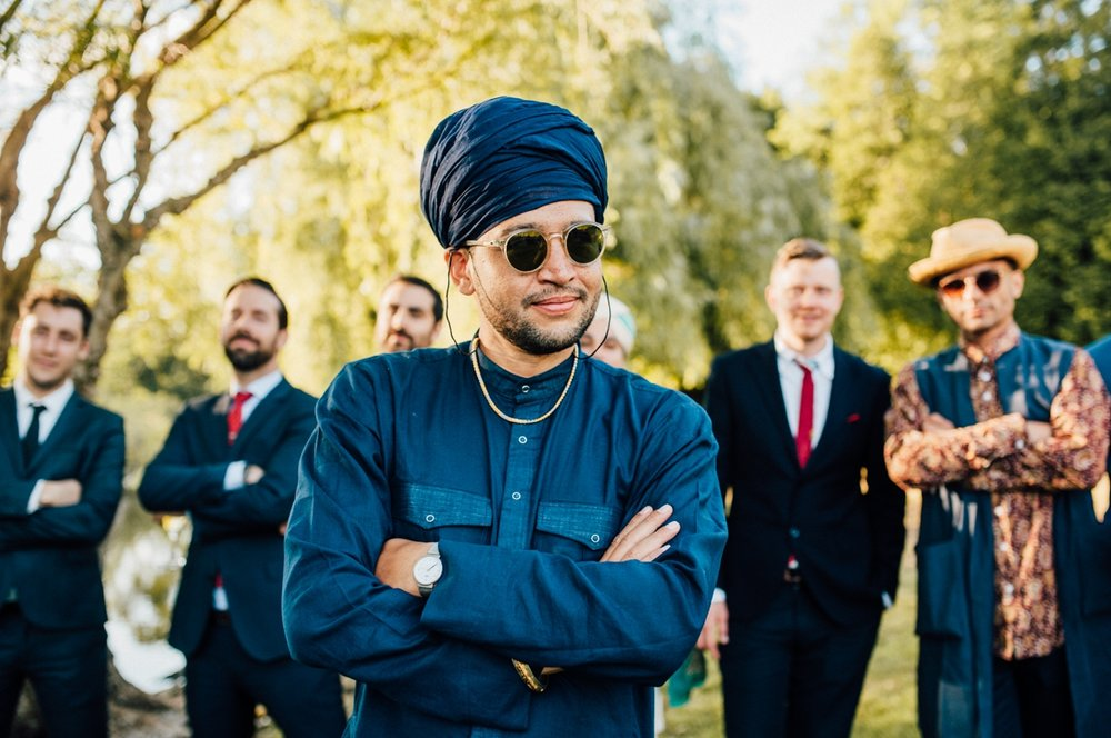 Hipster Indian wedding