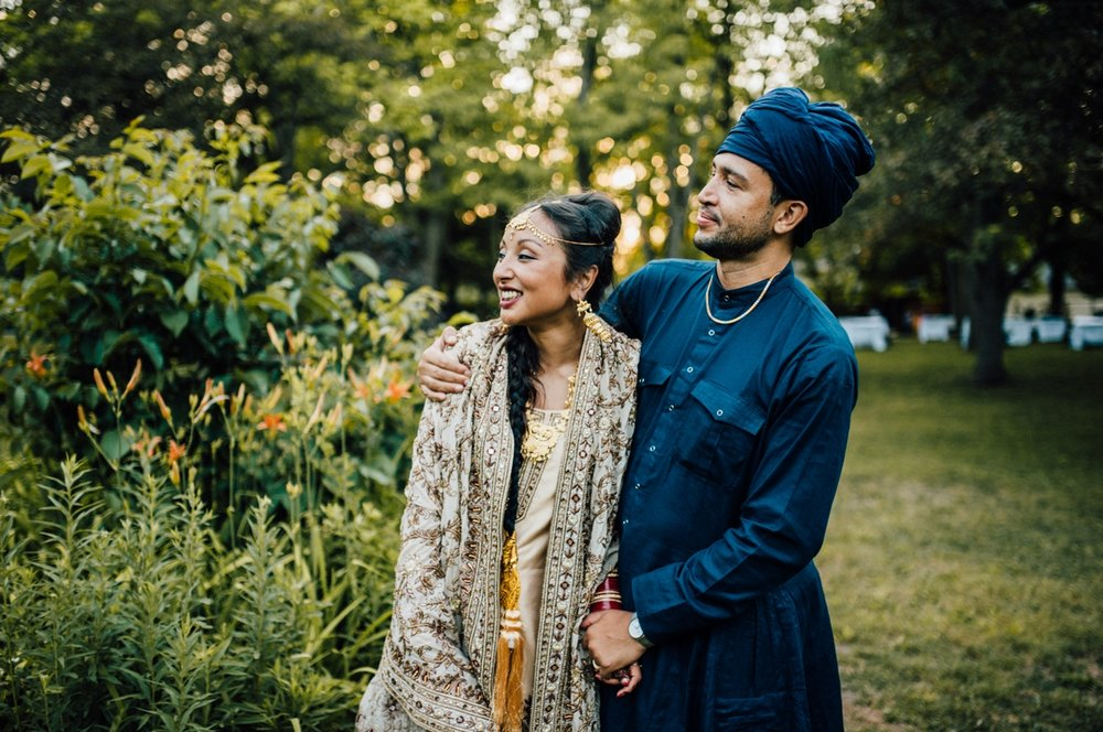 Intimate Toronto wedding photography