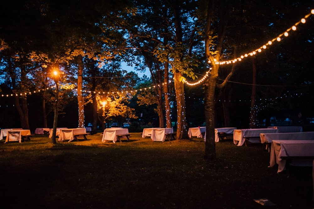 Intimate hamilton wedding
