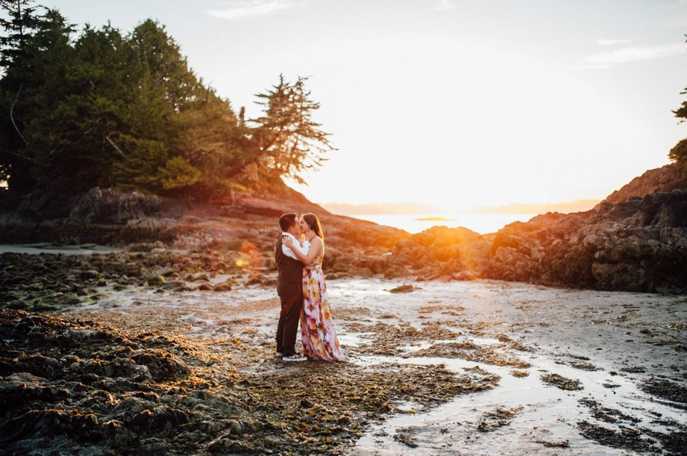 Fine art Tofino wedding