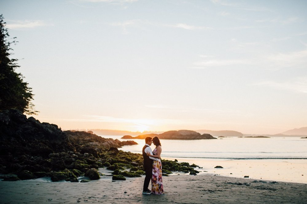 Tofino artistic wedding
