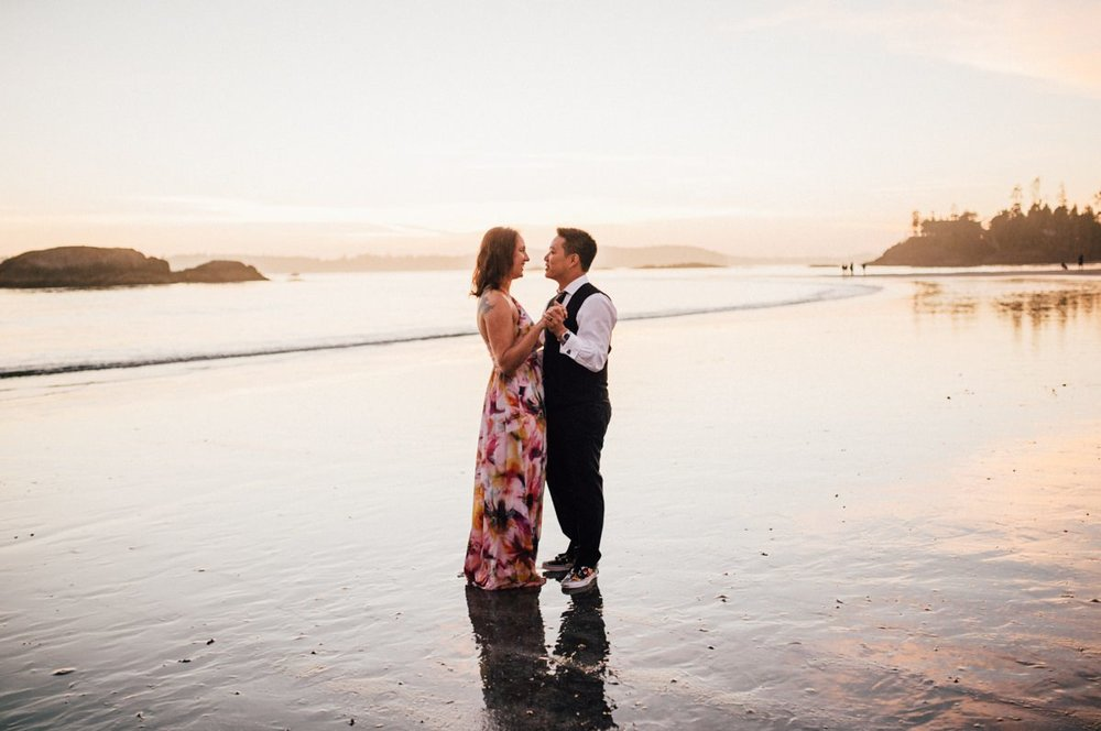 Nature wedding Tofino