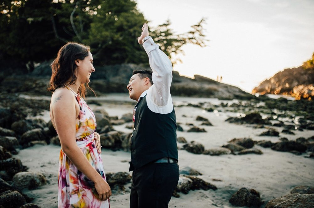 Unconventional Tofino wedding