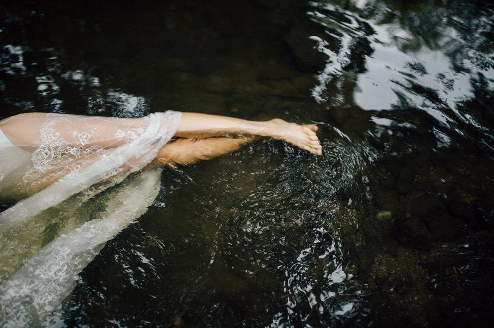 Adventurous water bridal