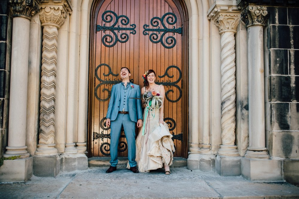 Creative wedding photography in Toronto