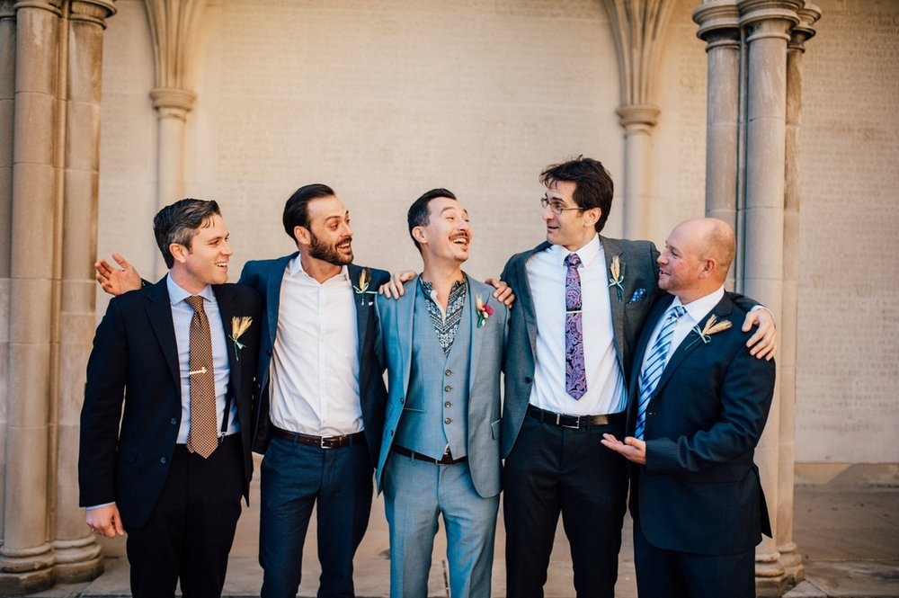 Intimate University of Toronto wedding