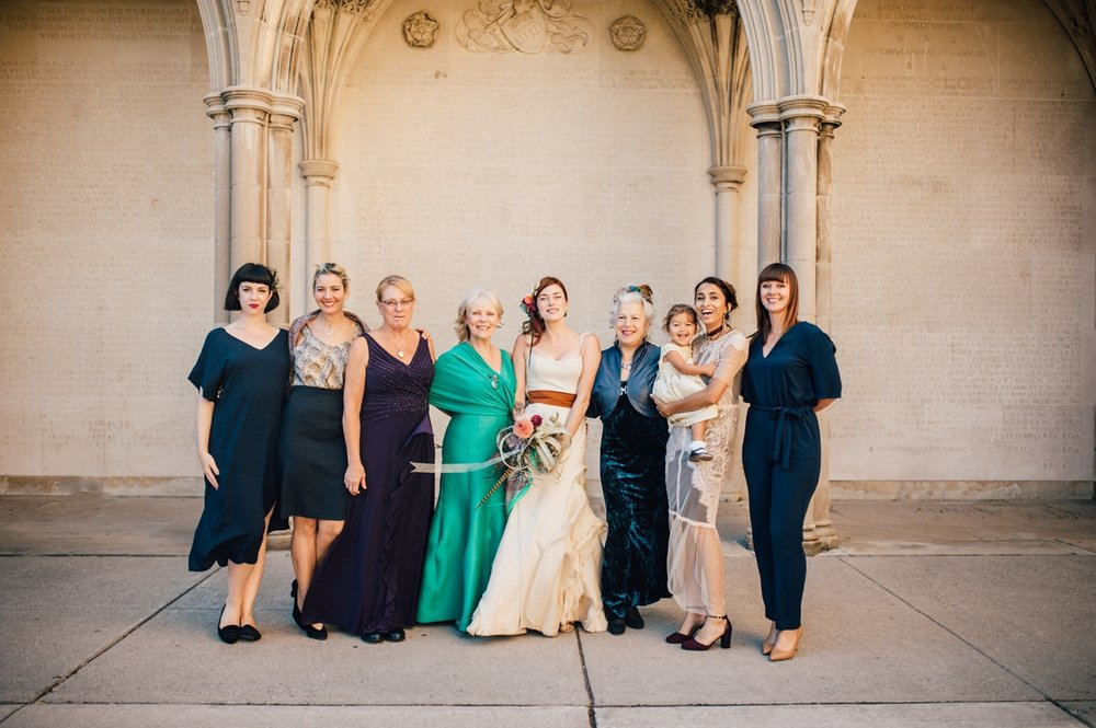 Free spirited hart house wedding