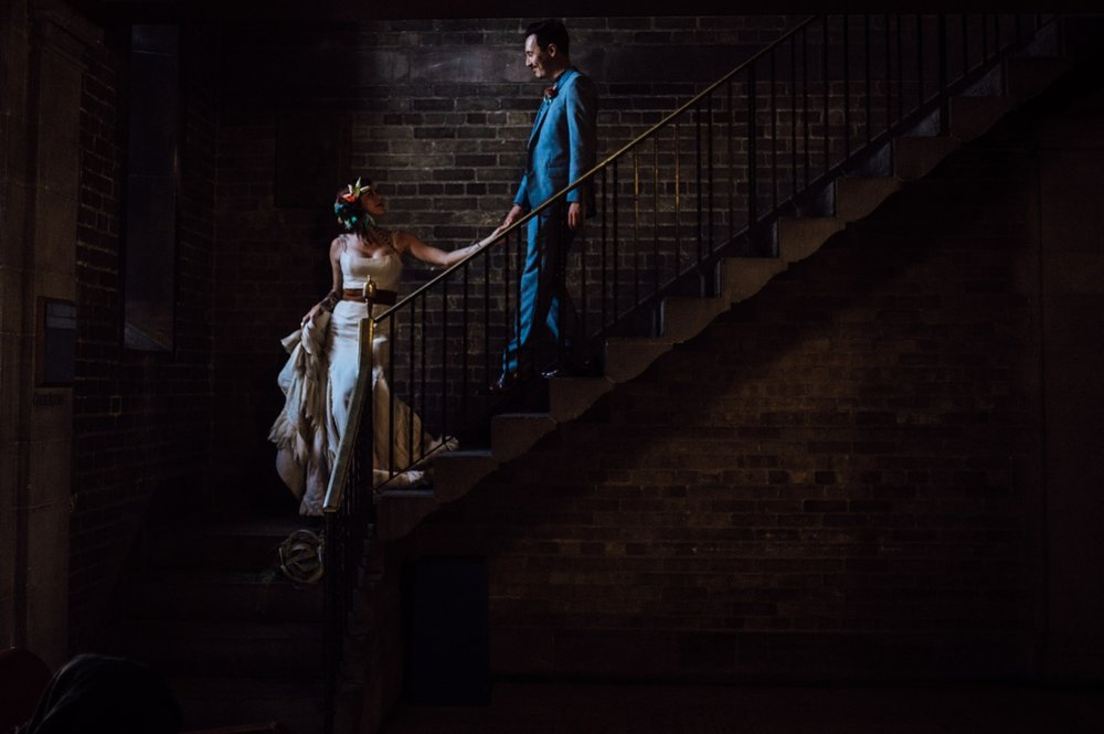 Artistic wedding photography in Toronto