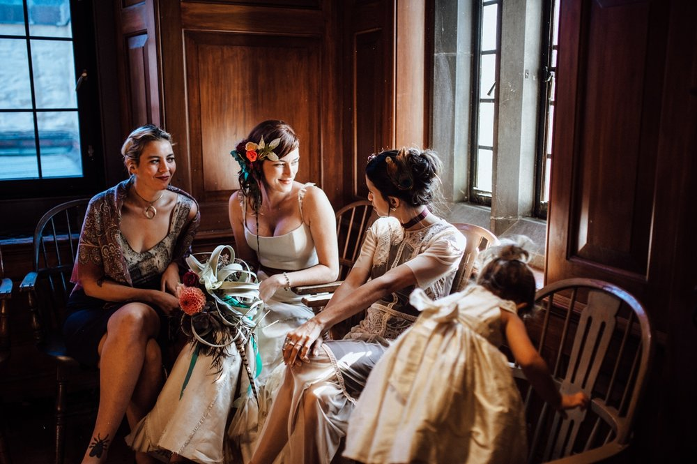 Candid toronto intimate wedding photography