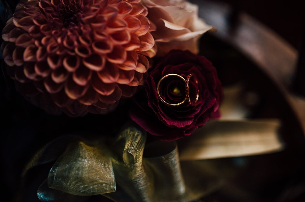 Moody creative Toronto wedding photography