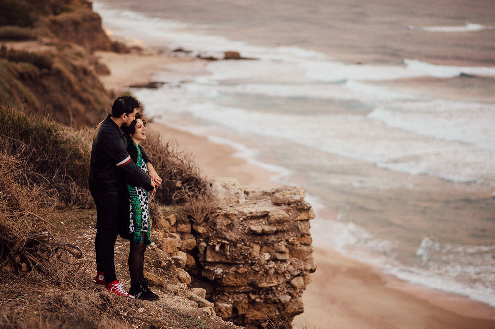 Ashkelon beach engagement