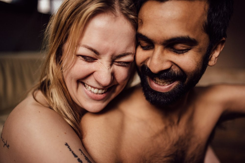 Intimate Toronto engagement photography