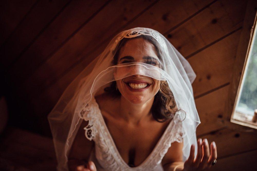 Creative Toronto wedding portraits