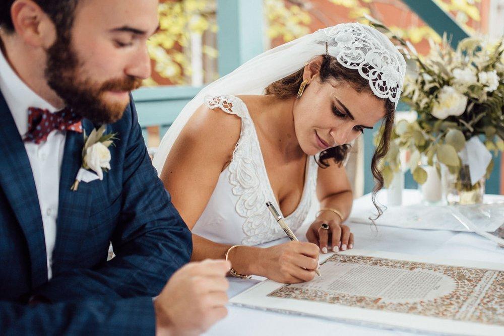 Toronto Creative Jewish wedding