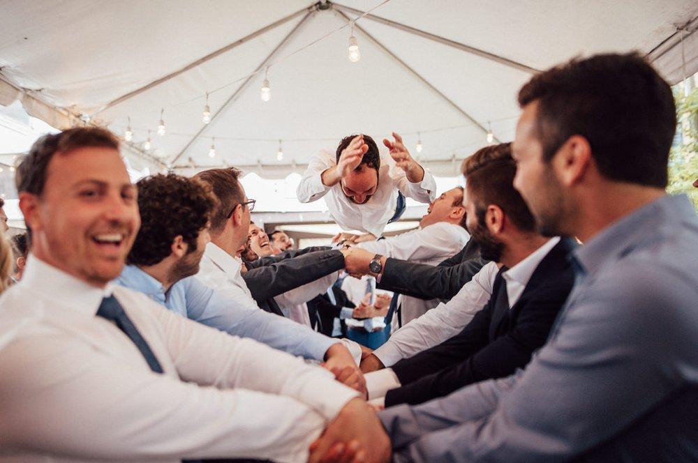 Toronto creative wedding photo