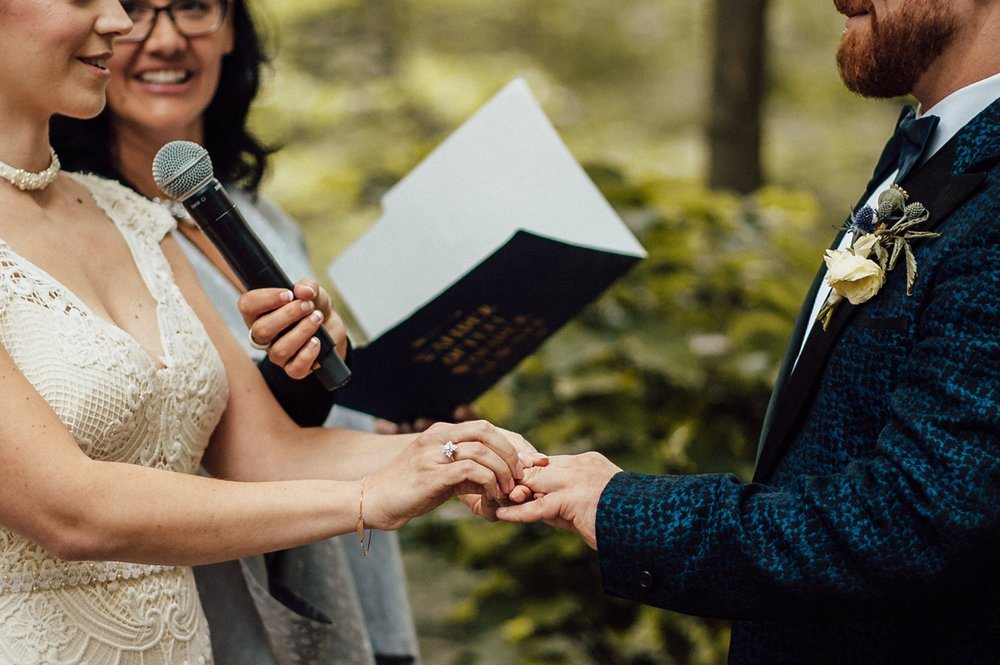 Magical forest Toronto wedding