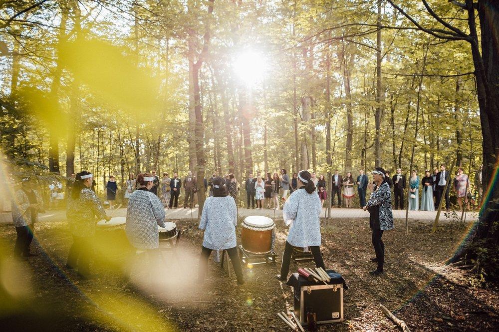 Isshin Taiko drummers