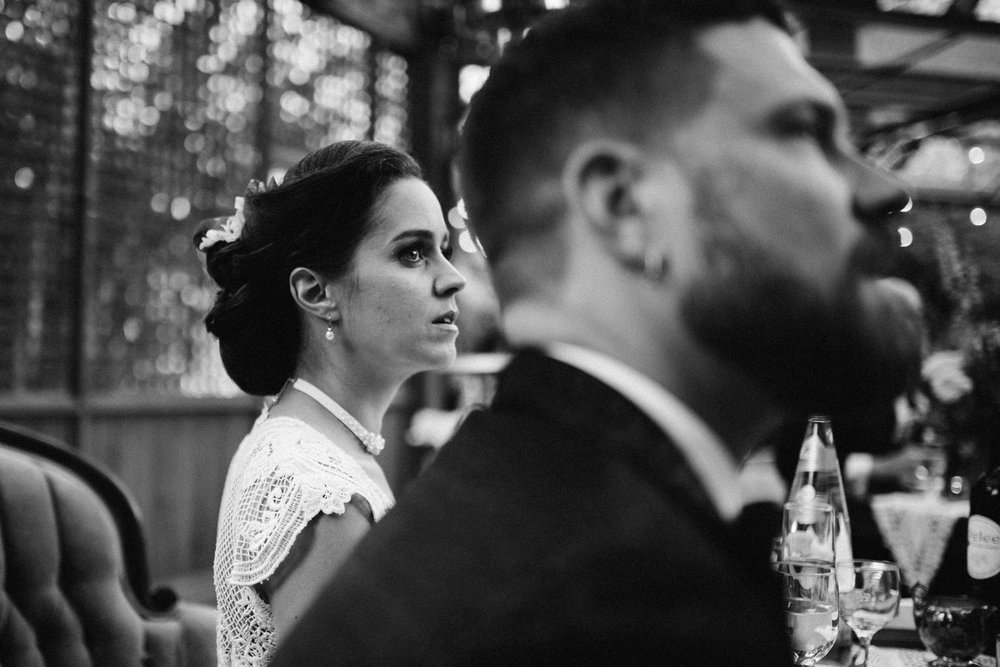 dark and moody toronto wedding photos