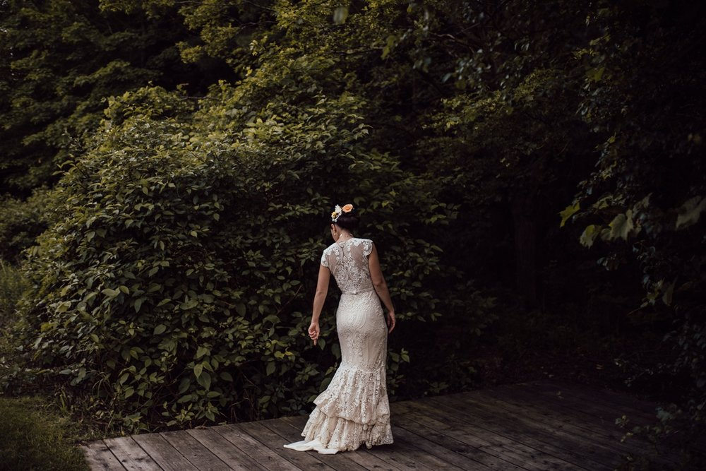 bridal portrait Kortright