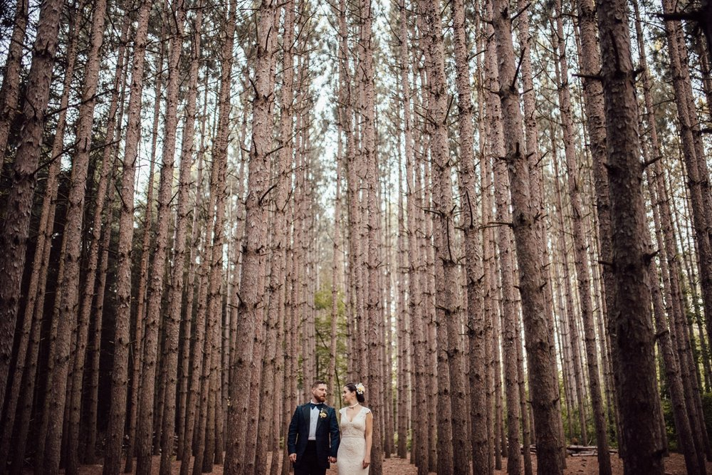 Creative Toronto Kortright wedding