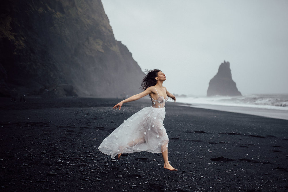 Artistic iceland wedding photographer
