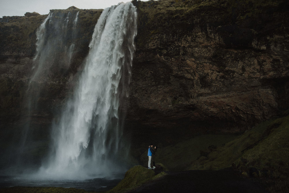seljalandsfoss elopement photographer