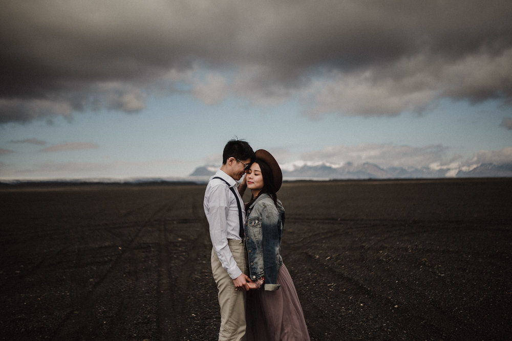 Beautiful Iceland elopement