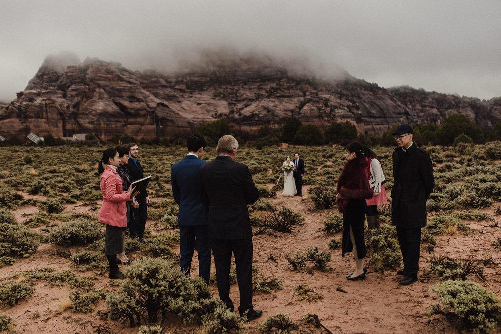 creative national park wedding