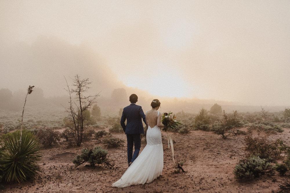 artistic elopement photographer