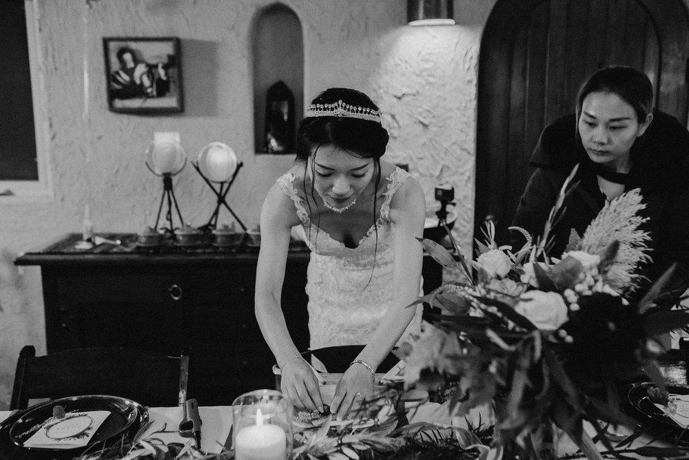 DIY elopement reception