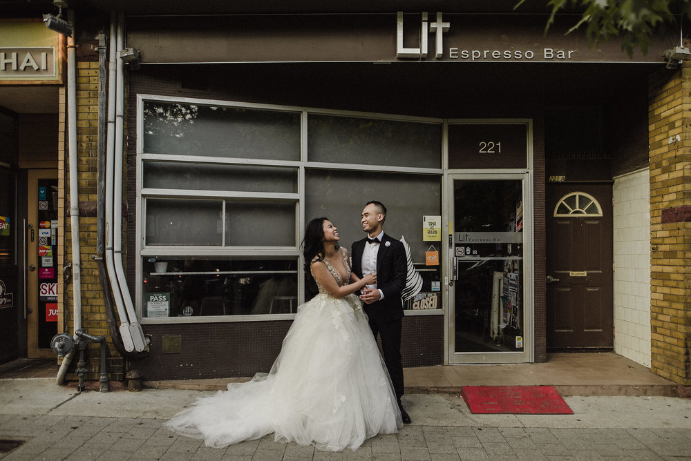 lit toronto wedding