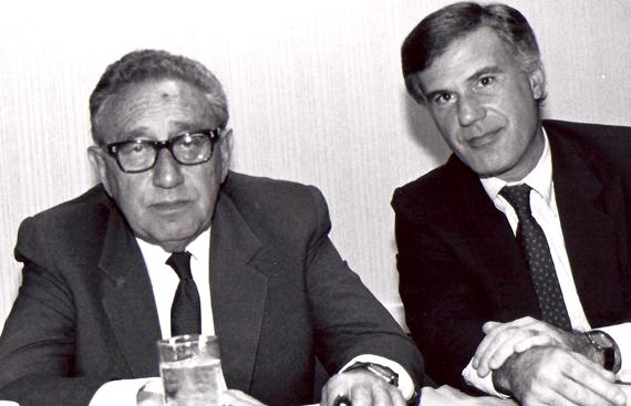 Steve Cabot & Henry Kissinger