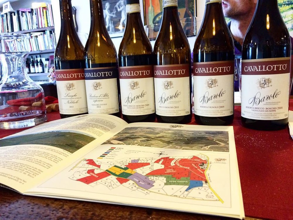 Wine Tasting at Cantina Cavallotto