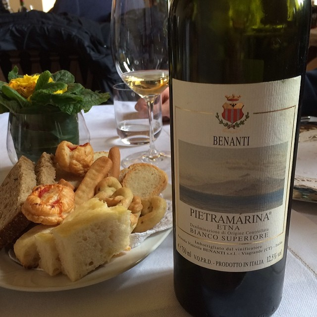 Lunch at Il Giglio, Montalcino