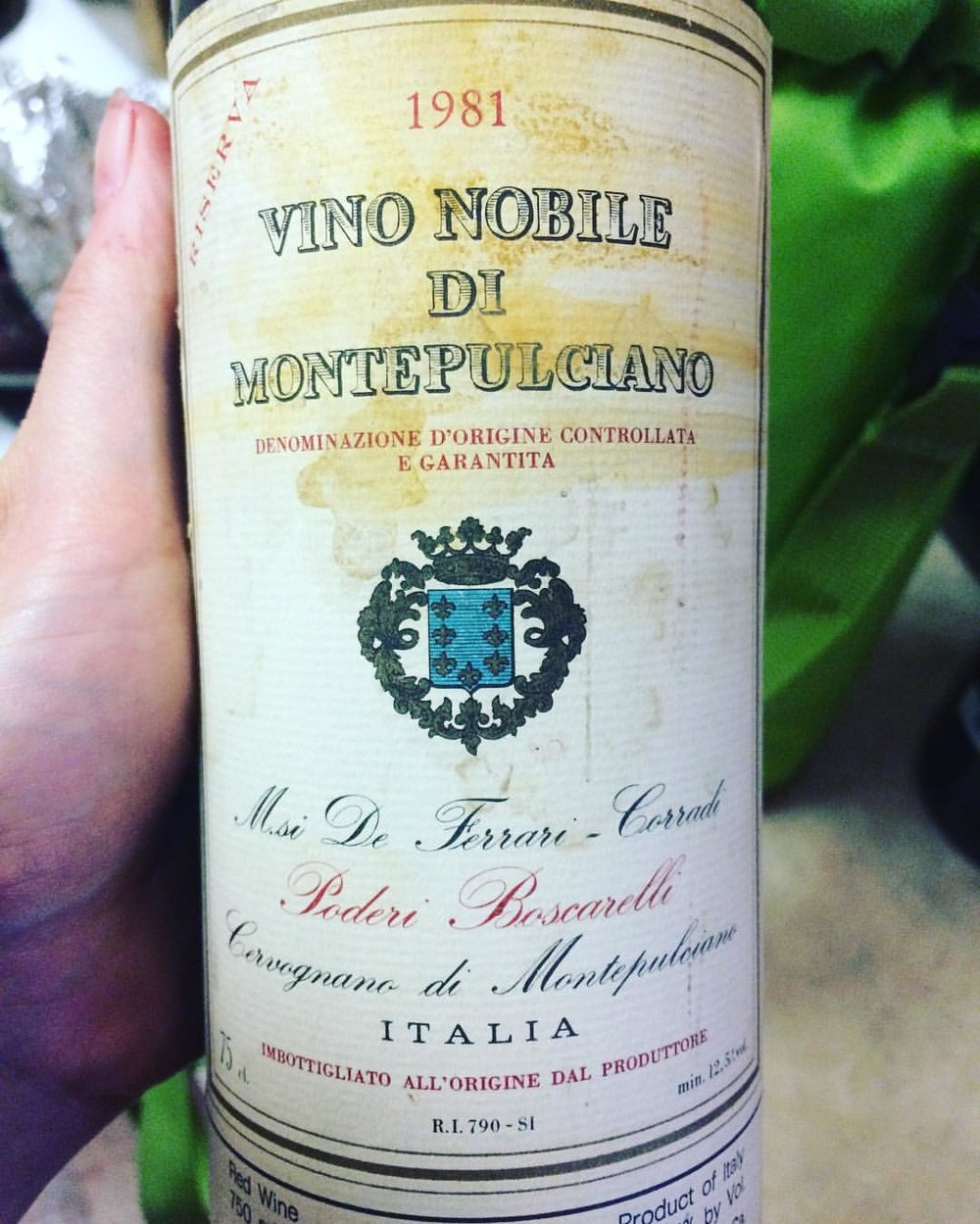 Poderi Boscarelli, Vino Nobile de Montepulciano, Tuscany