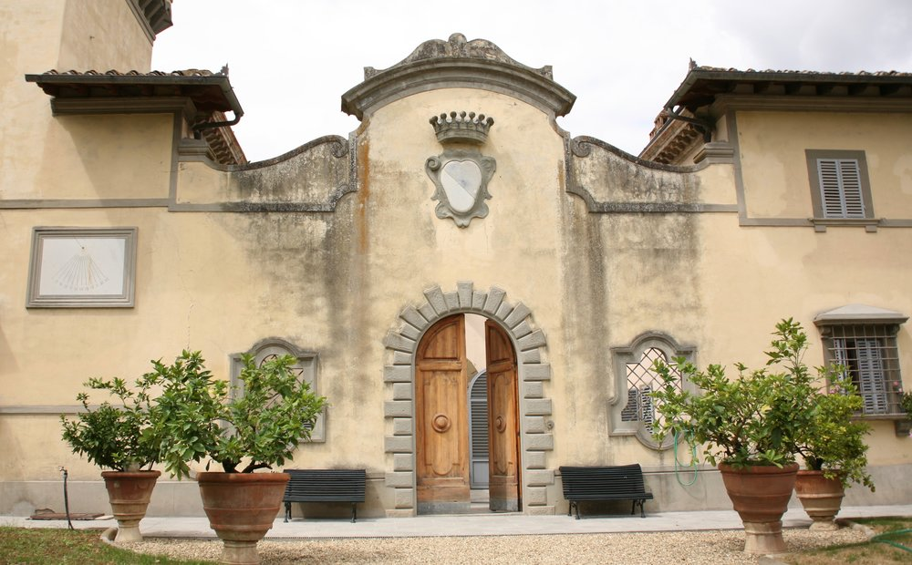 Castles and wine tastings do go together at  Villa Calcinaia  in Greve in Chianti