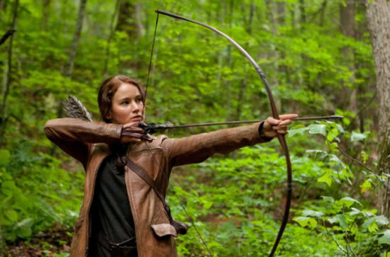 The Hunger Games trilogy is being shot in Atlanta, with the third film in production now.