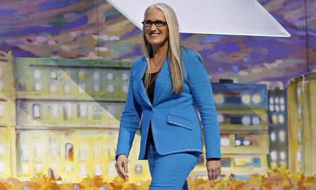 Jane Campion arrives on stage during the opening ceremony of the 2014 Cannes film festival. Photograph: Valery Hache/AFP/Getty Images