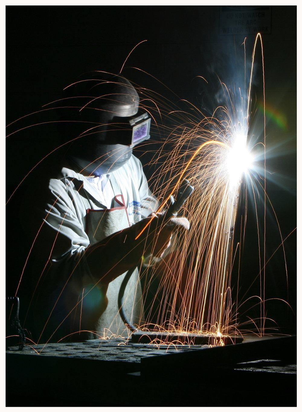 Welding, Metal, Industry, Structure