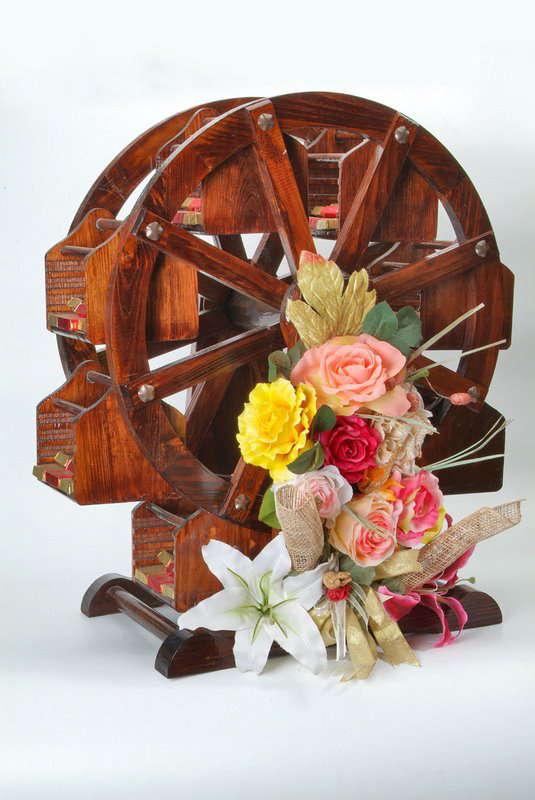 Water Wheel, Flower Arrangement, Arrangement, Product