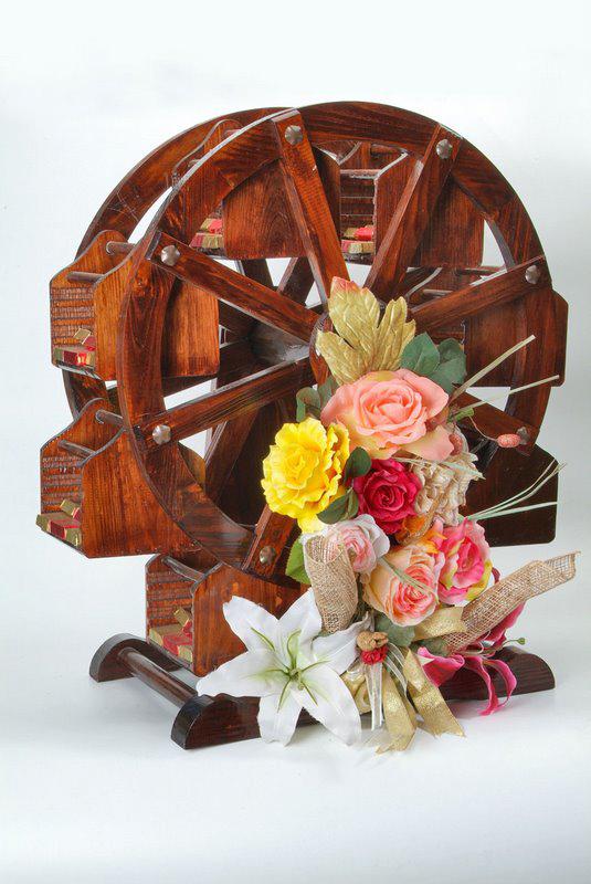 Water Wheel, Flower Arrangement, Arrangement, Product